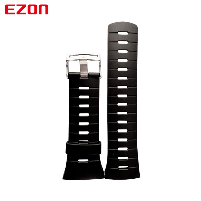 EZON Sports Watch Pin Buckle Rubber Strap 24Cm Length New Fashion Watchband for