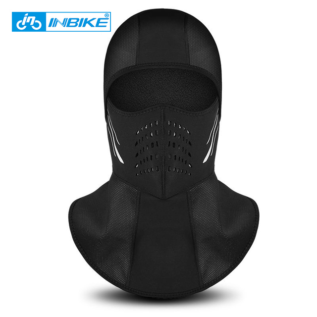 INBIKE Winter Face Mask Cap 2018 Thermal Fleece Ski Mask Face Snowboard Shield Hat Cold Headwear Cycling Face Mask Fiter Scarf