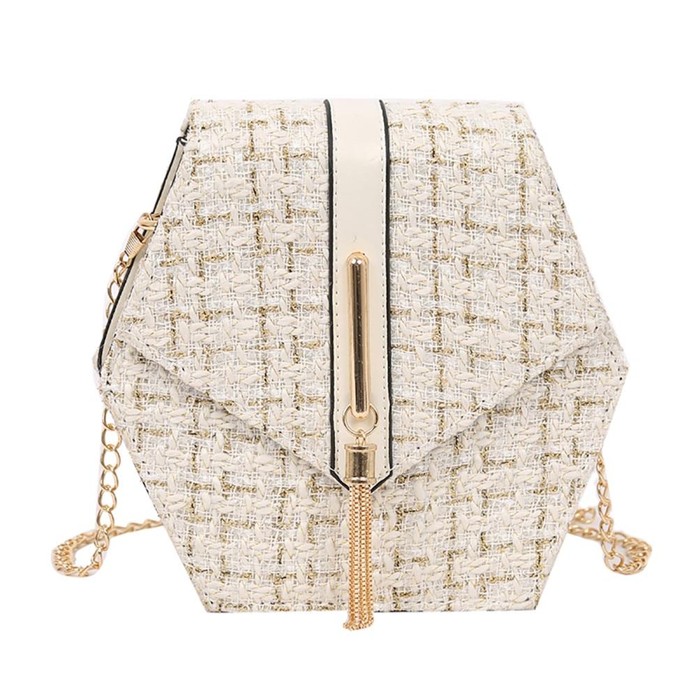 bags for women 2019 Women Messenger Bag Shoulder Bag Chain Wool Tassel Small Square Bag bolsa femininabags for women 2019 Women Messenger Bag Shoulder Bag Chain Wool Tassel Small Square Bag bolsa feminina