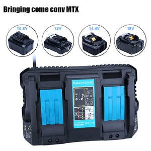 EU Plug 4A USB Interface Power Current Display Multi-function Screen Charger Makita 14.4V/18V Lithium Battery Charger Free shipp(China)