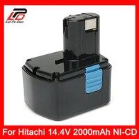 Recargable batería de la herramienta eléctrica para Hitachi 14,4 V 2000 mAh NI-CD EB1414S EB14B EB1412S 324367 EB14S DS14DL DV14DL CJ14DL DS14DVF3