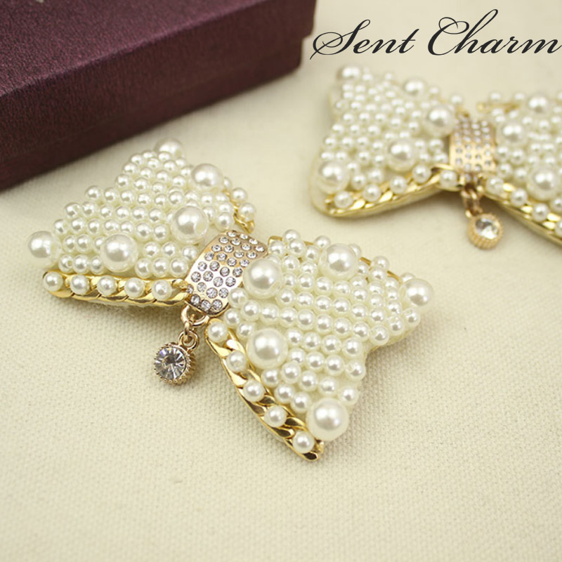 SENTCHARM New Style Luxury Rhinestone High-end Shoes Decoration For Women Detachable Shoes Accessories