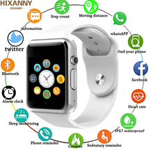 A1 WristWatch Smart Watch Sport Pedometer With SIM Camera Smartwatch for Android HUAWEI Apple Samsung watch Pk Z60 DZ09 GT08