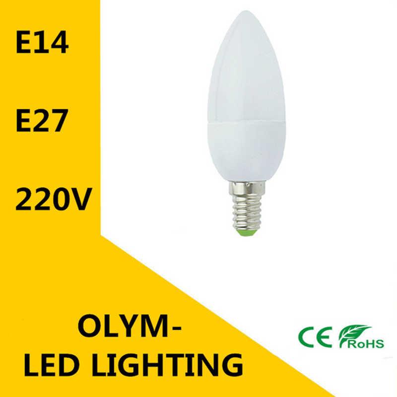 E27 E14 LED لمبة AC220V 5 واط 7 واط 9 واط دافئ/كول الأبيض LED الذرة أضواء مصباح Lampada الثريا الكريستال شمعة الإضاءة ديكور المنزل