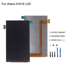 Original For Uhans A101 A101s LCD Display Digitizer Phone Parts Screen  Free Tools