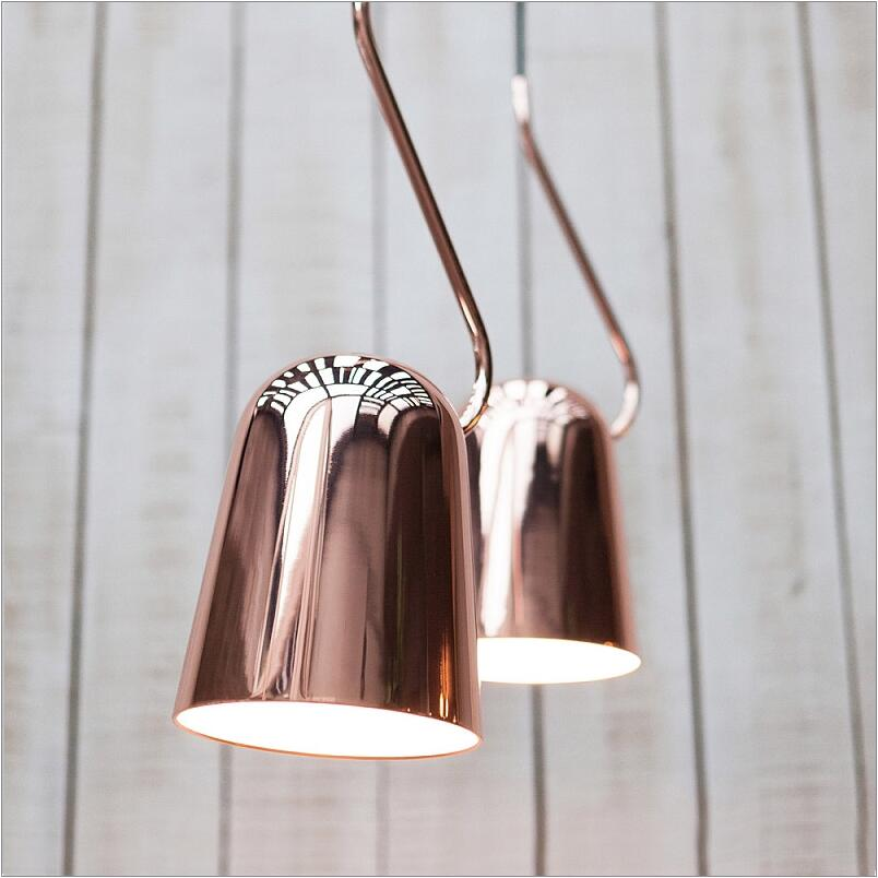 Polished Copper iron Pendant lights lamps for Dining Room Bedroom cafe bar Kitchen study room copper hanging lights drop lights loft hanging lamps industrial living room kitchen restaurant cafe dining room aisle study bar iron chandelier pendant lamp light
