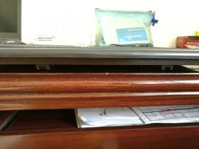 Boat RV Motohome Access Inspection Deck Hatch Black L 16.5 inch W12.4 inch 0553
