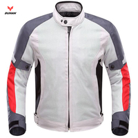 DUHAN D201B Motorcycle Mesh Jacket No Lining Motorbike Racing Net Jacket Breathable Motocross Jacket JD201B