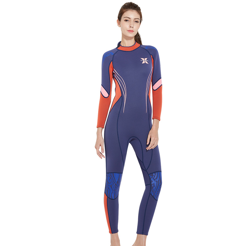 DIVE SAIL Warm Diving Suit 3MM Neoprene SCR One piece Full Body Diving  Wetsuit For Women Surfing Womens Wet Suit For Swimming-in Wetsuit from  Sports ... 3b1dd65eb