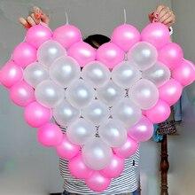 Heart Shape Mesh Model 38 Grids Net Frame Balloon Holder Wedding Car Decor
