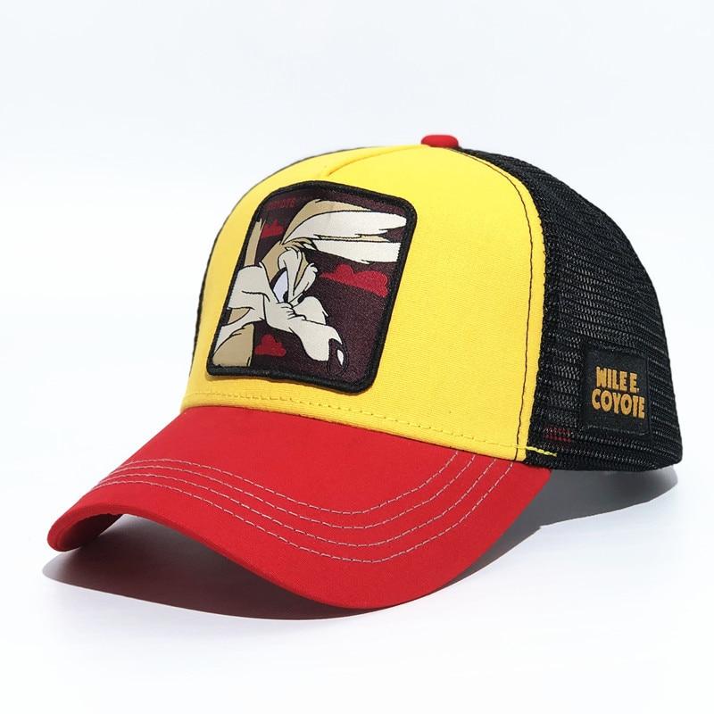 Summer Animal Embroidery   Baseball     Caps   women/men Shade Mesh Adjustable   Cap   Snapback Hat For Men Bone Hip Hop Hat