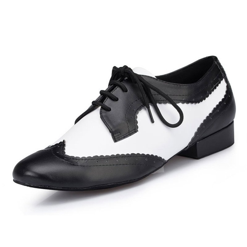 Brand Plus Size Men Dance Shoes Men's Ballroom Latin Tango Dance Shoes 2.5cm Genuine Leather Dress Men Salsa Jazz Dancing Shoes black backless latin dance dress women latin dress dancing clothes dancewear rumba dress latina salsa dress latin dance costumes