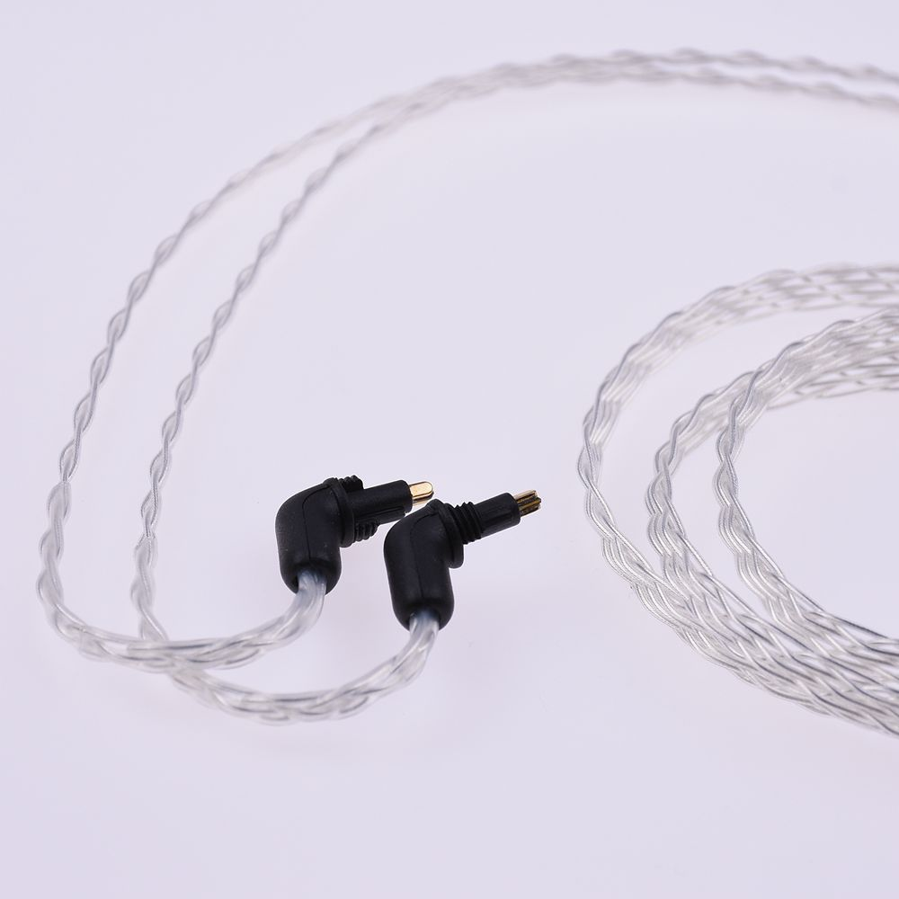 deb5fd307ed 1.2m 8 Cores Flat Braid 5n OCC Cable For Sony MDR-EX1000 EX800 Headphone