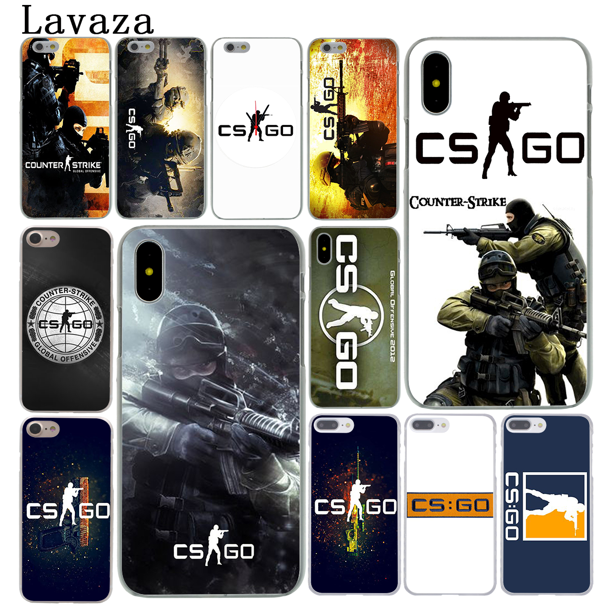 Accessories Phone Cases Covers For Iphone X Xr Xs Max 4 4s 5 5s 5c Se 6 6s 7 8 Plus Ipod Touch 5 6 Cs Go Gun Game On Phone Bags & Cases