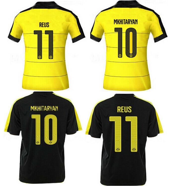 sports shoes 7b1e7 25ccd Soccer Jersey Borussia Dortmund 2016 MARCO REUS Borussia ...