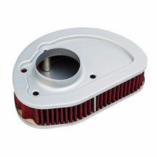 купить Motorcycle Air Cleaner Intake Filter For Harley Touring Softail Touring CVO Road King Street Glide 2014-2016 по цене 1761.8 рублей