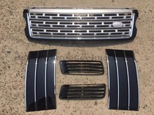 Car Styling Refitting Auto Vehicle Parts Grill grille Air Vents Kit Fit For Land 2013 -2016 on Rover Range Rover Vogue L405