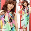 Wholesale Korea new scarf Chiffon Scarf veil swimsuit beach essential beach towel factory direct A10