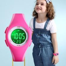 العلامة التجارية SKMEI الأطفال ساعة 50 متر مقاوم للماء كرونوغراف ساعة توقيت الرياضة ساعات لصبي فتاة الموضة سوار طفل ساعة اليد على مدار الساعة