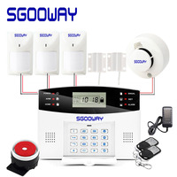 Sgooway Wireless Wired gsm Burglar Alarm System Security Home With Auto Dial Motion Door Sensor Detector