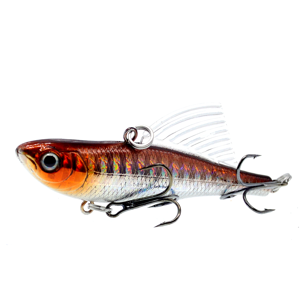 Image 3 - WLDSLURE 14.5g/65mm Sinking Vibration Fishing Lure Hard Plastic Artificial VIB Winter Ice Jigging Pike Bait Tackle Isca Peche-in Fishing Lures from Sports & Entertainment