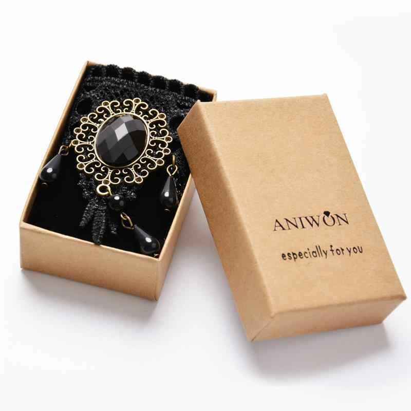 ハロウィンレース Nacklace ファッションチョーカーナイトパーティー女王の宝石ワイドネックレスクラブネックレスパンクチェーンネックアクセサリー