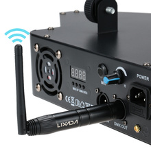 2.4G Wireless DMX512 R/T 3PIN Male/Female XLR Receiver Transmitter Communication distance 400M for Stage lighting Effect