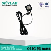 GPS Logger Recording Jack/audio connector GPS Receiver GPS engine board/Module with Antenna replace SKYLAB SKM55
