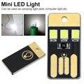 Мини Карманный Брелок с USB  5 шт.  0 2 Вт  светодиодная лампа USB светодиодов