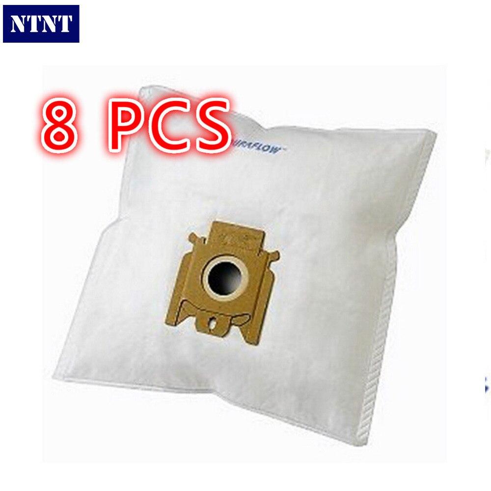 Galleria fotografica NTNT Pour Miele FJM sac à poussière avec 8 microtilter MIELE FJM GN Type Aspirateur <font><b>Hoover</b></font> SACS À POUSSIÈRE et FILTRES CHAT CHIEN