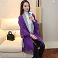 Ladies' Winter Jacket Black Loose Sweater Ladies Cloak Shawl Bat Sleeve Knit Sweater Ukraine Lady Winter Fringed Cardigan JF006