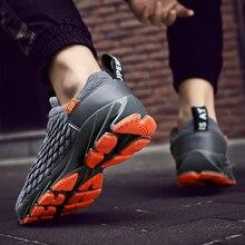 Большие размеры 39 46; мужские кроссовки; легкая дышащая модная удобная мужская обувь для тренировок; # AB9035