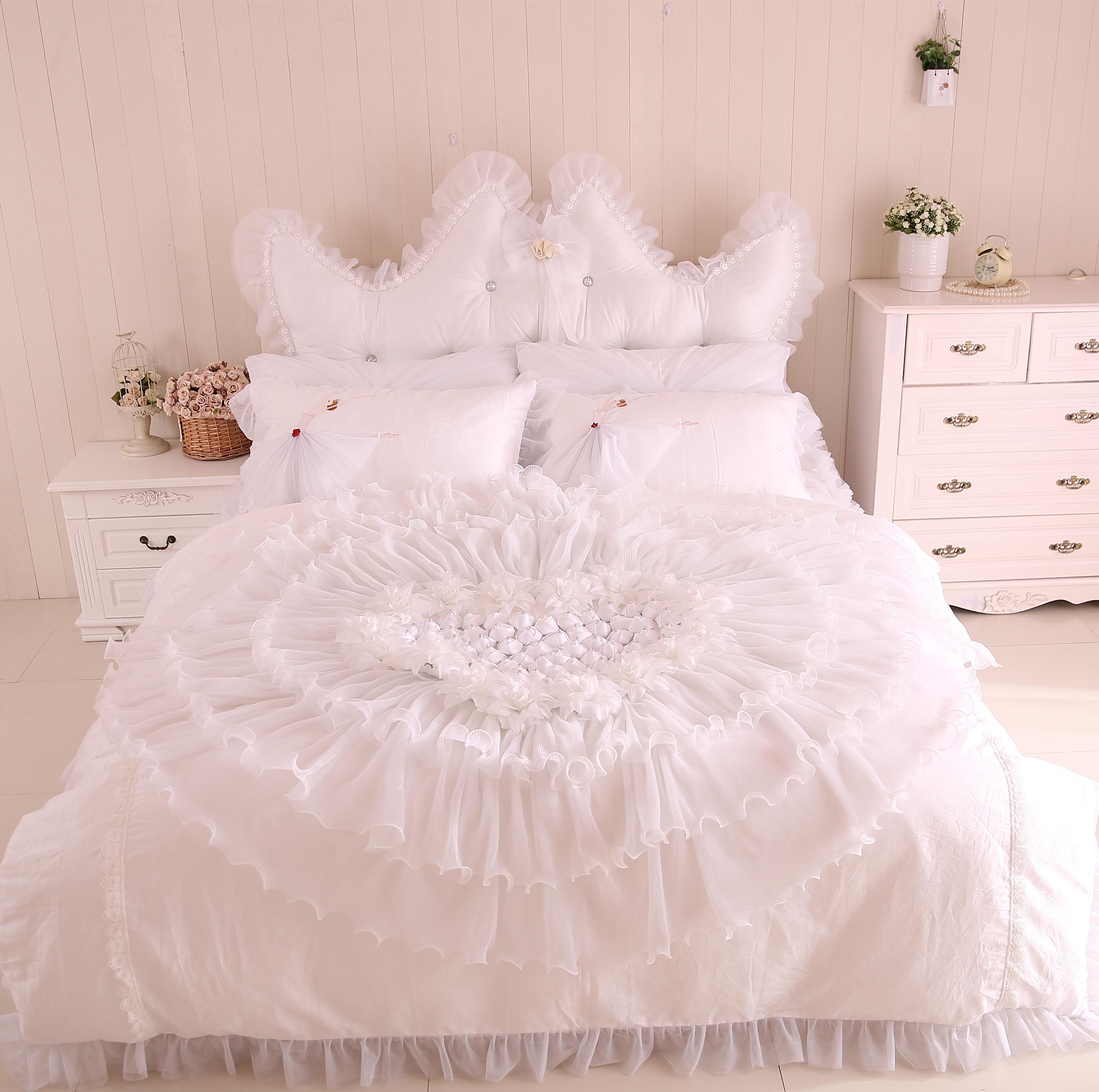 Wedding bed sheet set - Designer Luxury Wedding Bed Sheet