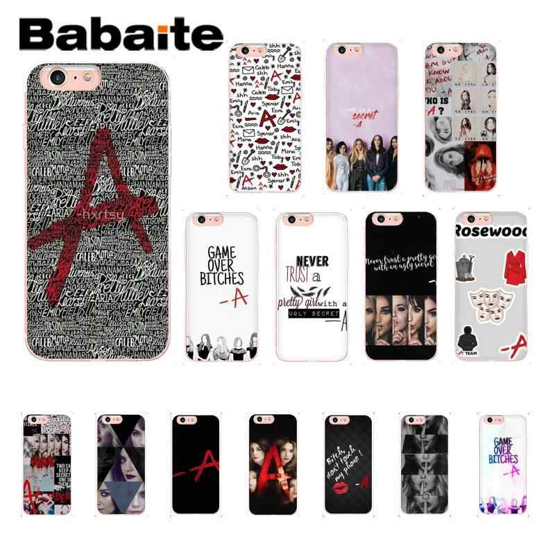 PRETTY LITTLE LIARS QUOTES A GAME TV SERIES iphone case