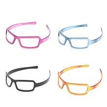 Kids Sunglasses Boys Girls Rhinestone Fashion Eyewear Baby Sun Glasses Gift For Children Solid Goggles