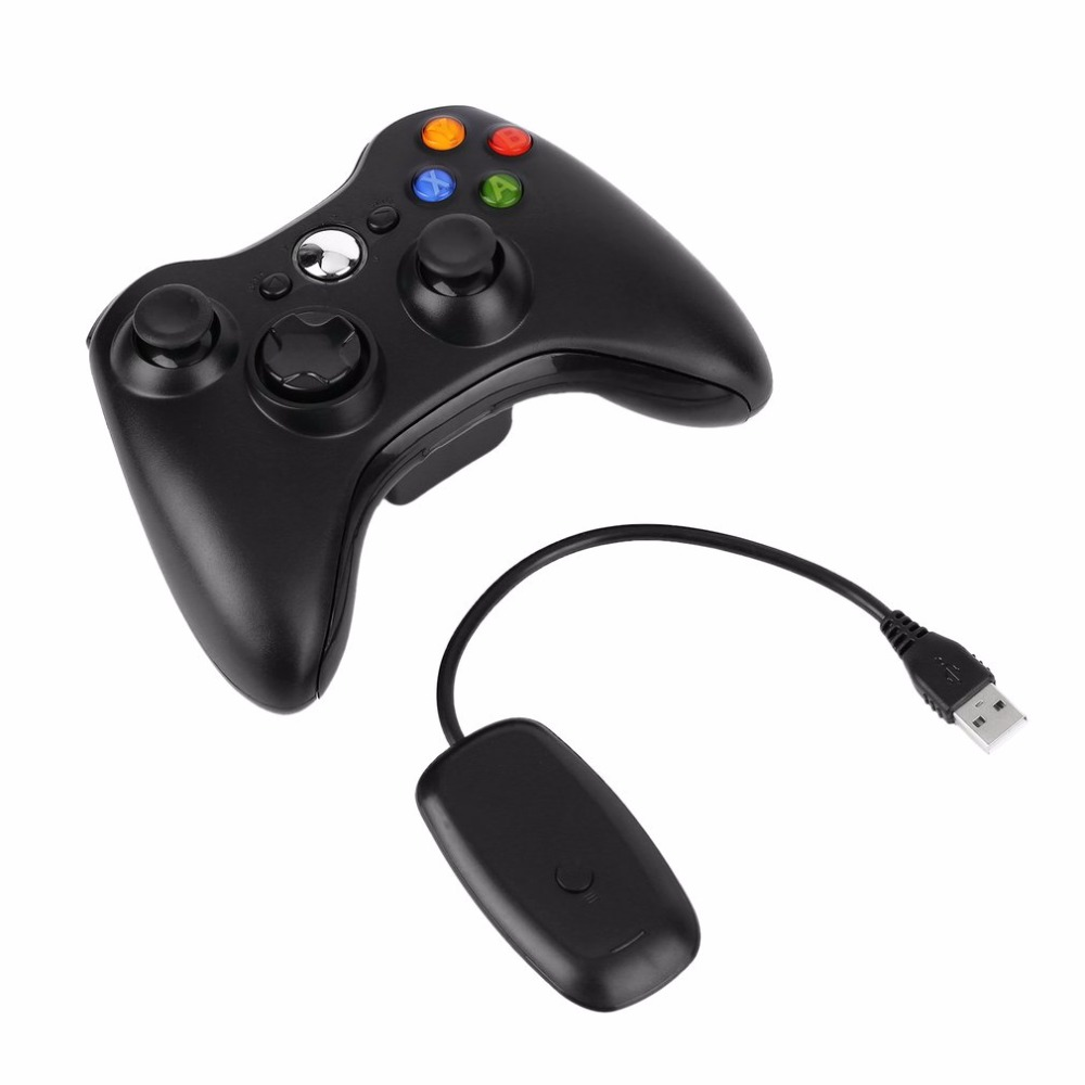 2.4G Controlador Sem Fio Gamepad Joystick Jogo USB Gaming Receiver para XBOX 360 para Computador PC para o WINDOWS XP WIN7 WIN8 WIN8.1