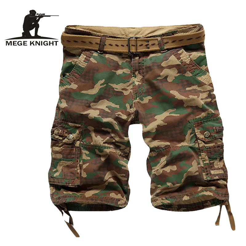 Fashion Camouflage Casual Shorts, Cargo Men Army Shorts, Men Tactical Shorts, Military Men Shorts No Belt