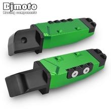 BJMOTO For Kawasaki Z650 Z750 Z800 Z900 Z1000 Motorcycle CNC Passenger Footrests Rear Foot Pegs Pedal Ninja650 ZX9R ZX6R ER6N/6F