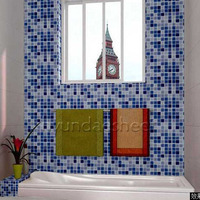 브랜드 한국 모자이크 스티커 벽지 욕실 화장실