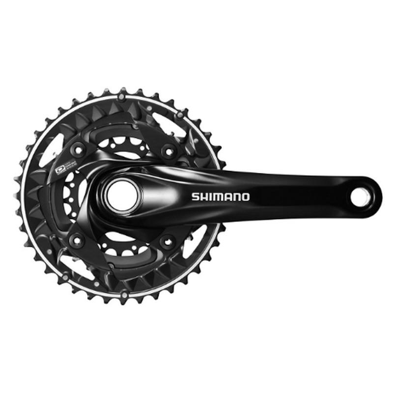 SHIMANO DEORE FC M622 3 Black 10 Speed Chainset Crankset 3x10 Speed Chain Wheel crank protector