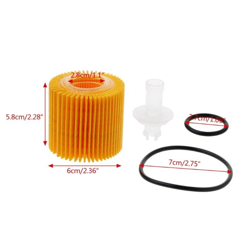 Масляные бензиновые фильтры 04152-YZZA6 комплект для Corolla Prius Toyota автомобильные Фильтры масляные фильтры