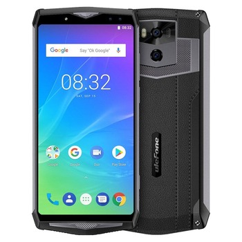 """Ulefone Power 5s 13000mAh Mobile Phone Android 8.1 6.0"""" FHD MTK6763 Octa Core 4GB+64GB 21MP Face ID Wireless Charge Smartphone"""