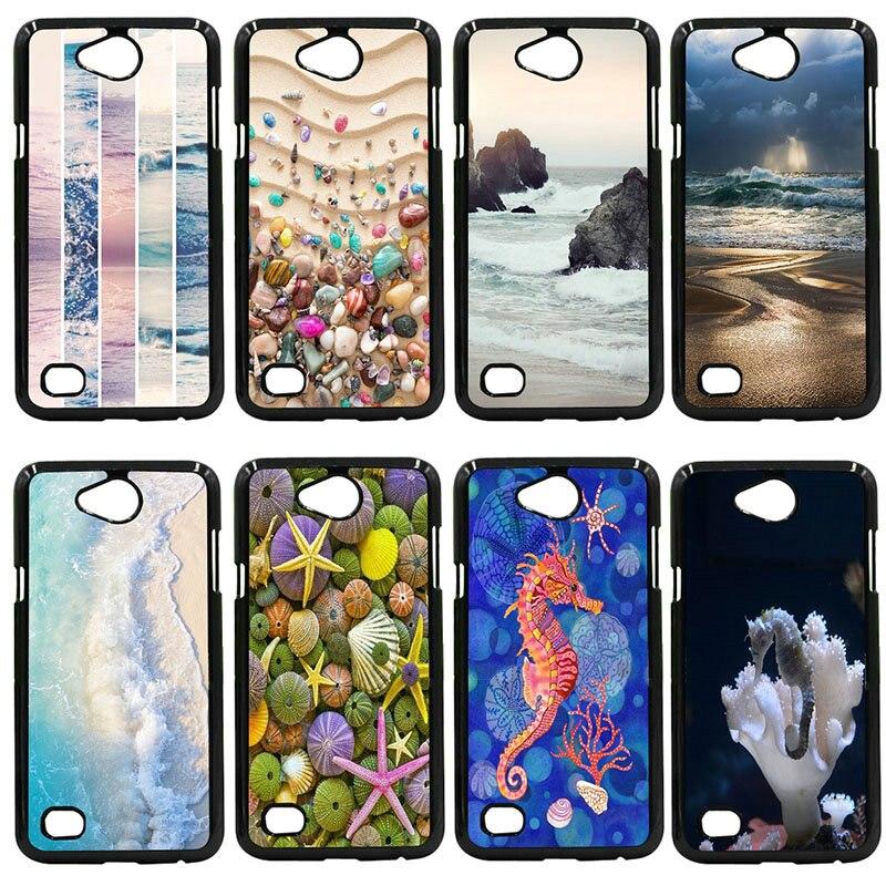 Tropical Sea Island Phone Cases Hard PC Cover For LG L Prime G2 G4 G5 G6 G7 K4 K8 K10 V20 V30 Nexus 5 6 5X Pixel