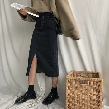 Cheap Wholesale 2018 New Summer  Hot Selling Women's Fashion Casual  Sexy Denim Skirt L20 4
