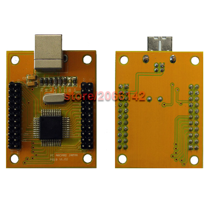 Arcade mame DIY KIT FOR 2 players PC PS/3 2 IN 1 to arcade joystck interface USB 2 player MAME Interface USB to Jamma Mame arcade mame diy kit for 2 players pc ps 3 2 in 1 to joystck led button with icons interface usb 2 player mame interface