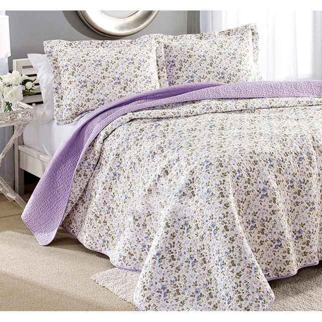amazon a in purple ultra soft dp pastoral alicemall patchwork coverlets bed bedspread and set checkered bag com countryside quilt quilts