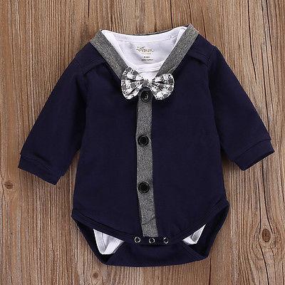 Infant Newborn Baby Boys Clothes Cardigans Sweatshirt Coat+Romper Jumpsuit Outfits Clothes 0-18M baby clothing summer infant newborn baby romper short sleeve girl boys jumpsuit new born baby clothes