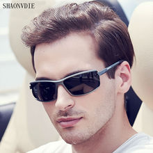 SHAONVDIE Aluminum Brand New Polarized Sunglasses Men Fashion Sun Glasses Travel Driving Male Eyewear Oculos Gafas De Sol