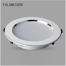 High brightness LED downlight, integrated aluminum lamp body, high lumen 5730SMD, with constant current driver together