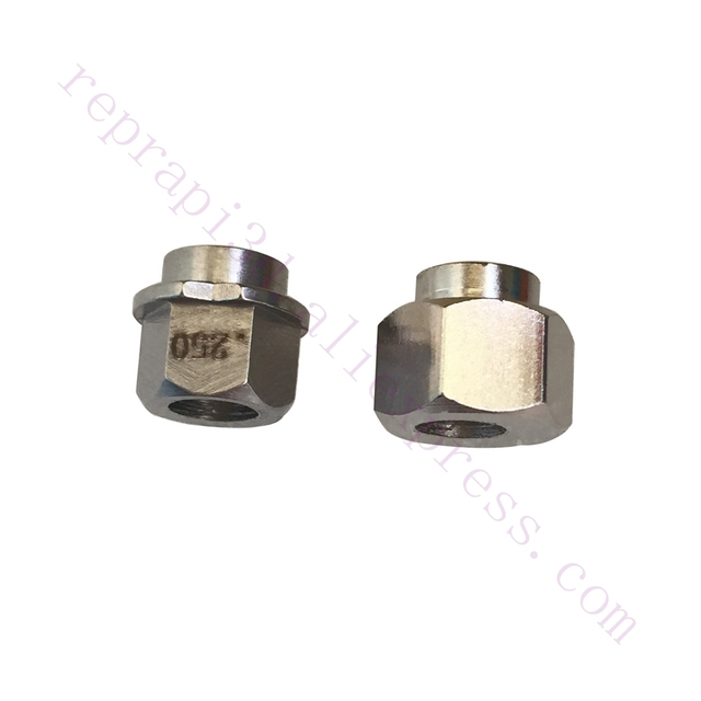 "20 pcs openbuilds ox cnc 0.25 ""/6.35mm 또는 6mm 편심 스페이서 v 슬롯 용 5mm 보어 선형 알루미늄 압출 3d 프린터 cnc"